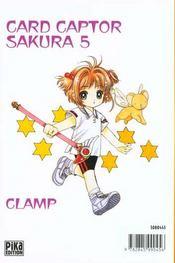 Card Captor Sakura T.5 - 4ème de couverture - Format classique