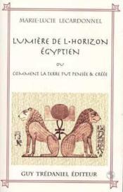 Lumiere De L'Horizon Egyptien - Couverture - Format classique