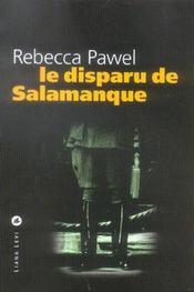 Le Disparu De Salamanque - Intérieur - Format classique