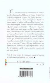 L'Esprit Du Lieu - 4ème de couverture - Format classique