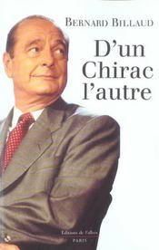 L'autre chirac - Intérieur - Format classique