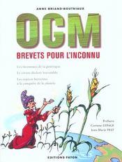OGM, brevets pour l inconnu - Intérieur - Format classique