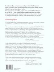 OGM, brevets pour l inconnu - 4ème de couverture - Format classique