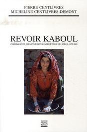 Revoir kaboul - Intérieur - Format classique