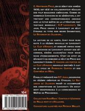 Le seigneur de l'illusion - 4ème de couverture - Format classique