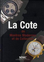 La cote de montres modernes et de collection - Intérieur - Format classique