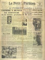 Petit Parisien Edition De Paris (Le) du 25/02/1941 - Couverture - Format classique