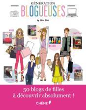 Generation blogueuses - Couverture - Format classique