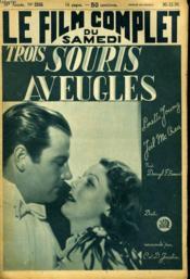 Le Film Complet Du Samedi N° 2355 - 18e Annee - Trois Souris Aveugles - Couverture - Format classique
