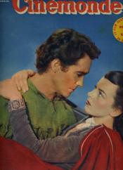 CINEMONDE - 20e ANNEE - N° 947 - RICHARD TODD eT JOAN RICE vedettes de Robin des bois et ses joyaux compagnons, un film de walt Disney entièrement interprété par des acteurs - Couverture - Format classique
