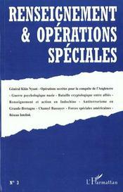 Renseignements Et Operations Speciales N.3 Novembre 1999 - Intérieur - Format classique
