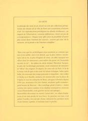 Les premiers mots de paris - 4ème de couverture - Format classique