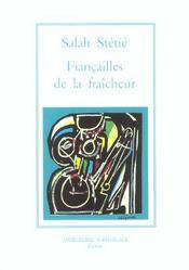 Fiancailles De La Fraicheur (Broche) - Intérieur - Format classique