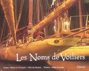 Noms de voiliers les - Intérieur - Format classique