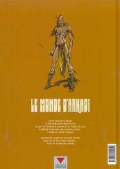 Le monde d'Arkadi t.6 ; Noone - 4ème de couverture - Format classique