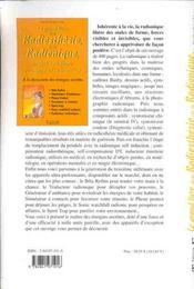 Grand Livre Radiesthesie Et Radionique - 4ème de couverture - Format classique