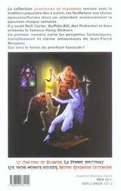 Jean-Pierre Bouyxou contre la femme au masque rouge - 4ème de couverture - Format classique