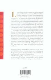 Jacqueries Et Revolution Dans La Chine Du Xxe Siecle - 4ème de couverture - Format classique