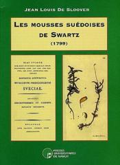 Les mousses suédoises de Swartz (1799) - Couverture - Format classique
