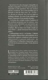 Rendez Vous Au 35 Bis ; L'Etranger ; Le Juge Et L'Ethnologue - 4ème de couverture - Format classique