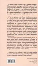 Dictionnaire de la peinture par les peintres - 4ème de couverture - Format classique