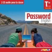 Password English Terminale - 2 Cd Classe - Couverture - Format classique