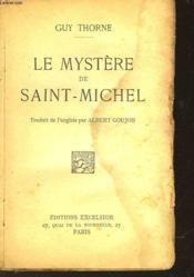 Le Mystere De Saint-Michel - Couverture - Format classique