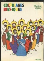 Coloriages Bibliques/n2 - Couverture - Format classique