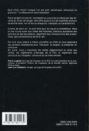 Le Beauceron - 4ème de couverture - Format classique