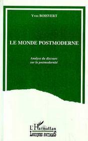 Le Monde Postmoderne - Intérieur - Format classique