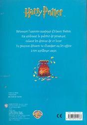 Harry Potter ; Le Monde Magique ; Un Livre A Peindre - 4ème de couverture - Format classique