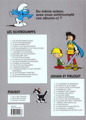 Les Schtroumpfs t.1 ; les Schtroumpfs noirs - 4ème de couverture - Format classique