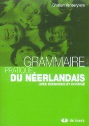 Grammaire Pratique Du Neerlandais - Intérieur - Format classique
