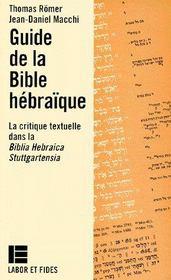 Guide de la Bible hébraïque - Couverture - Format classique