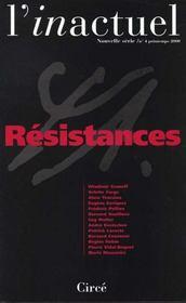 Revue L'Inactuel 04 - Resistances - Intérieur - Format classique