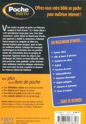Pochemicro Internet - 4ème de couverture - Format classique