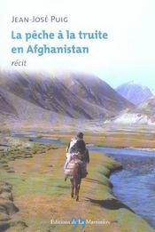 Peche A La Truite En Afghanistan (La) - Intérieur - Format classique