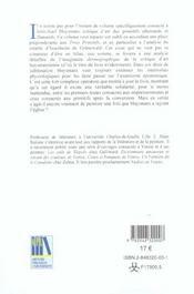 Huysmans A Fleur De Peau - 4ème de couverture - Format classique