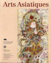 Arts Asiatiques N.58 ; 2003 - Couverture - Format classique