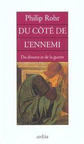 Du Cote De L'Ennemi Du Divorce Et De La Guerre - Intérieur - Format classique