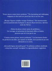 Echecs Fin De Jeux - 4ème de couverture - Format classique