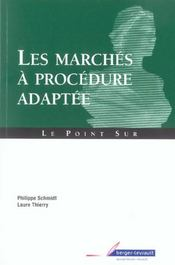 Vente  Marches a procedure adapte  - Thierry Laure - Collectif - Jean Massot