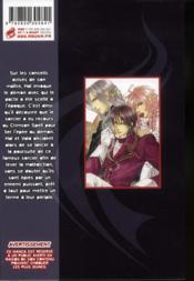 Crimson spell t.2 - 4ème de couverture - Format classique