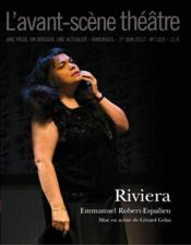 Revue L'Avant-Scene Theatre N.1325 ; Riviera - Couverture - Format classique