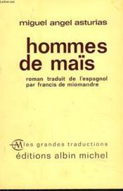 Hommes De Maïs - Couverture - Format classique