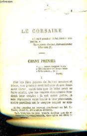 Le Corsaire - Lara. - Couverture - Format classique