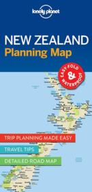 Vente livre :  New Zealand planning map (édition 2017)  - Collectif - Collectif Lonely Planet