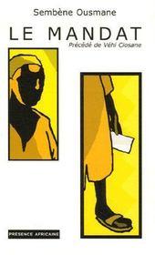 Le mandat ; vehi ciosane - Couverture - Format classique