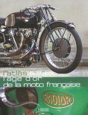 L'Atlas L'Age D'Or De La Moto Francaise - Intérieur - Format classique