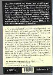 Voyage en laponie - 4ème de couverture - Format classique